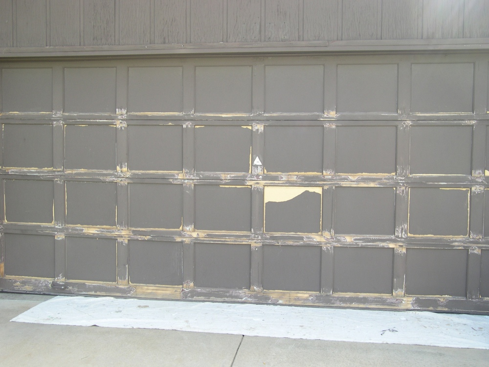 Refinishing Wood Garage Doors. Doors Photo · Doors Photo